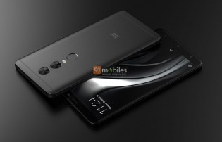 Xiaomi Redmi Note 5 renders