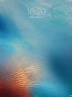 Apple Ipad Pro review: Lockscreen