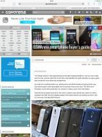 Apple Ipad Pro review: Safari