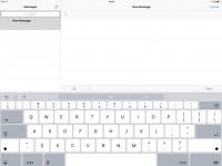 Apple Ipad Pro review: Keyboard in landscape
