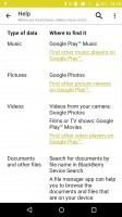 Blackberry Priv review: The help article suggest you quickly install a third-party file manager