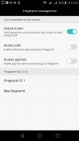 The G8 comes with an excellent fingerprint reader implementation - Huawei G8 review