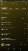The Music player - Huawei G8 review