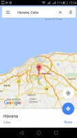 Google Maps - Huawei G8 review