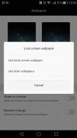 Huawei Mate S review: Lockscreen graphics controls