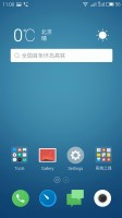 Meizu M1 Metal review: Homescreen