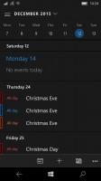 Calendar - Microsoft Lumia 550 review
