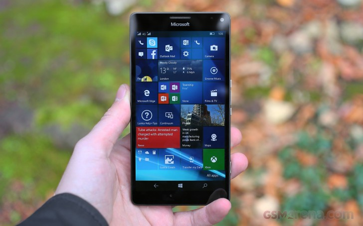 Microsoft Lumia 950XL time-saver review