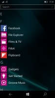 Microsoft Lumia 950 review: App screen