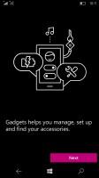 Microsoft Lumia 950 review: Gadgets app