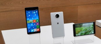 Microsoft Lumia 950 XL, 950 and 550 hands-on