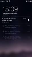 The lockscreen - Oppo R7s review