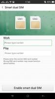Dual-SIM settings - Oppo R7s review