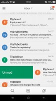 Oppo's built-in email client - Oppo R7s review
