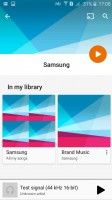 Samsung Galaxy J2 review: Only the standard Google Play Music is provided