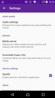 Sony Xperia Z5 Premium review: Sound settings