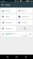 Sony Xperia Z5 Premium review: File manager