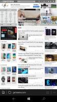 Microsoft Edge browser - Acer Liquid Jade Primo review