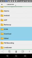 File manager - Acer Liquid X2 review