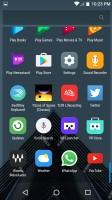 Standard app drawer - Alcatel Idol 4s preview