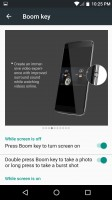 Boom key options - Alcatel Idol 4s preview