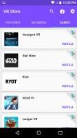 VR store - Alcatel Idol 4s preview