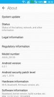 Settings - Asus Zenfone 3 ZE552KL preview