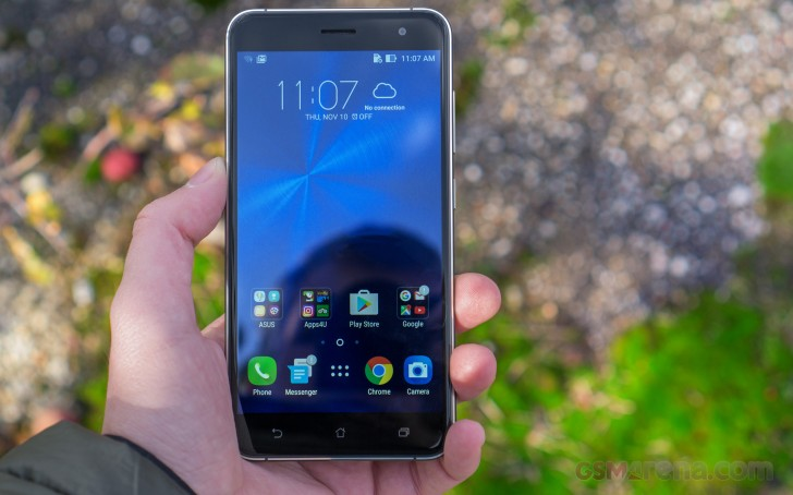 Asus Zenfone 3 Review User Interface