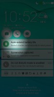 Asus themed lockscreen - Asus Zenfone Max ZC550KL review