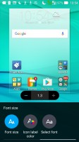 Customization menu - Asus Zenfone Max ZC550KL review