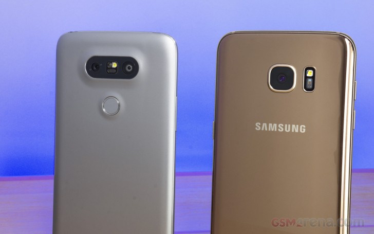 Galaxy S7 Edge vs. LG G5 Low Light review