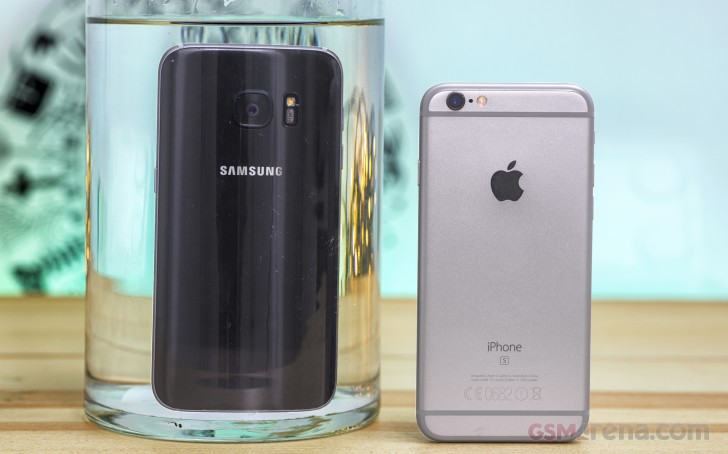 Galaxy S7 vs. iPhone 6s