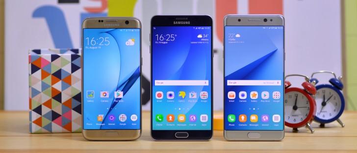 Galaxy Note7 vs. S7 edge vs. Note5