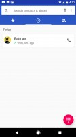 Call log - Google Pixel XL review
