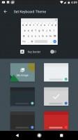 Keyboard themes - Google Pixel XL review