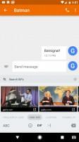 The GIF keyboard - Google Pixel XL review