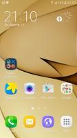 Galaxy S7 edge: Homescreen - Xiaomi Mi Note 2 vs. Samsung Galaxy S7 edge