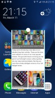 Browser in a window - Xiaomi Mi Note 2 vs. Samsung Galaxy S7 edge