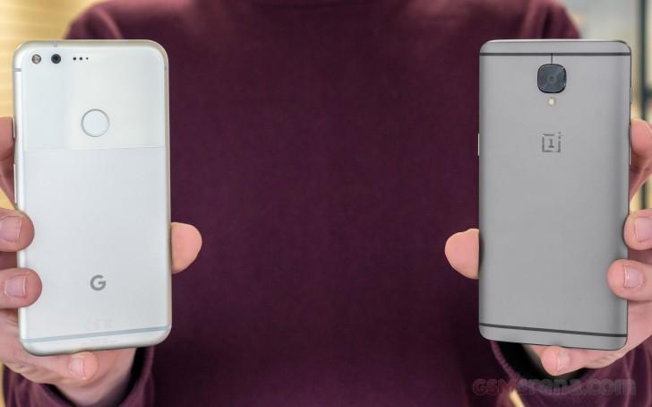 Oneplus 3T vs. Google Pixel XL