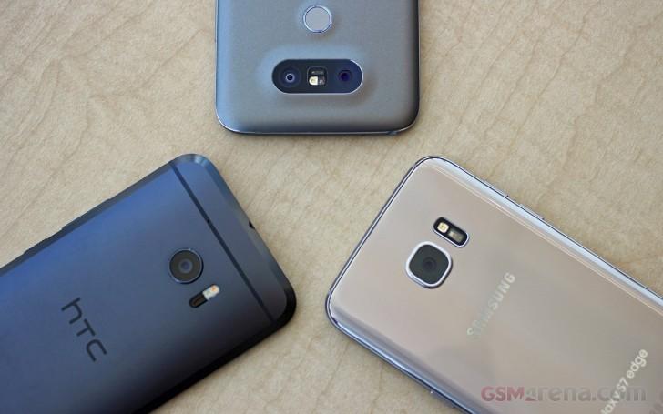 HTC 10 vs. LG G5 vs. Samsung Galaxy S7 Edge