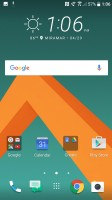 Main home screen icons - HTC 10 Review review