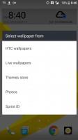 Wallpaper categories - HTC Bolt: First look