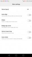 options - Huawei Nova Plus review