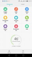 File manager - Honor 7 Lite (5c) review