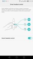 Smart headset control - Huawei P9 lite review