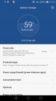 Battery manager - Honor 7 Lite review