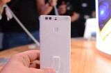 The fingerprint reader is both a security feature and a multi-function button - Huawei P9 Plus hands-on