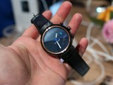 Zenwatch 3 in gunmetal/leather - IFA 2016 Asus