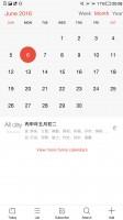 Calendar - LeEco Le Max 2 review