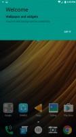Homescreen: Welcome - Lenovo Phab2 Pro review
